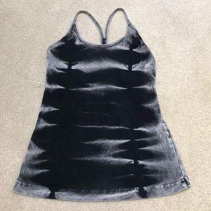 Hard Tail Tops - Hard Tail Black Acid Wash Tank Top